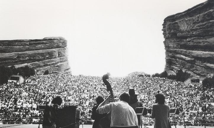 Red Rocks Vintage Photo