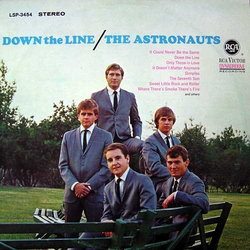The Astronauts Down The Line