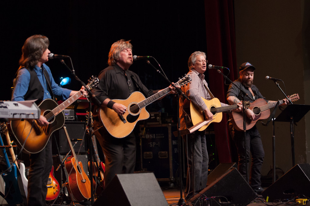 Jeff Hanna (Nitty Gritty Dirt Band), Jock Bartley (Firefall), Richie Furay (Poco) and Nathaniel Rateliff