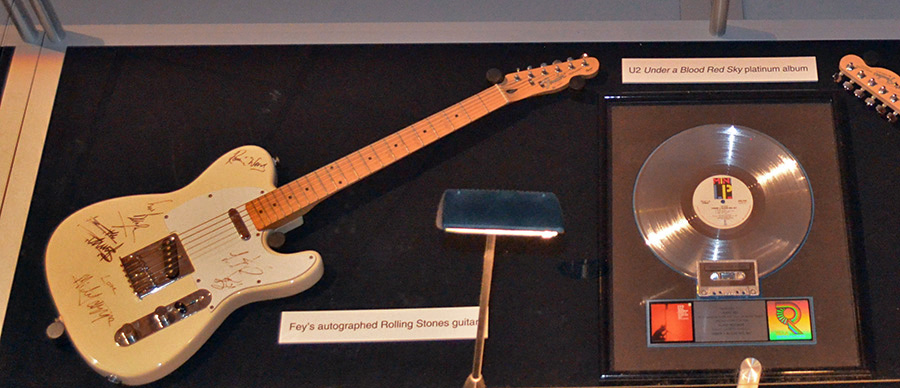 Barry Fey Exhibit Guitar