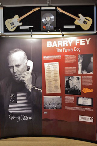 Barry Fey & The Family Dog Exhibit at the Colorado Music Hall of Fame