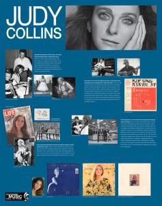Judy Collins Exhibit Panel