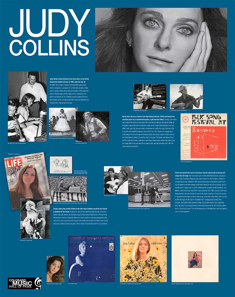 EXHIBITS DETAILS PAGE - Judy Collins