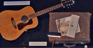 Harry Tuft Exhibit Guitar