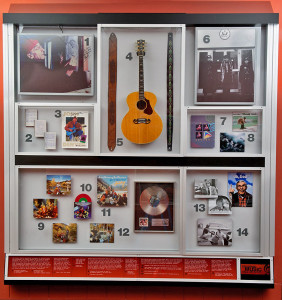 John Denver display exhibit