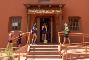 Colorado Music Hall of Fame inside the Red Rock's Trading Post
