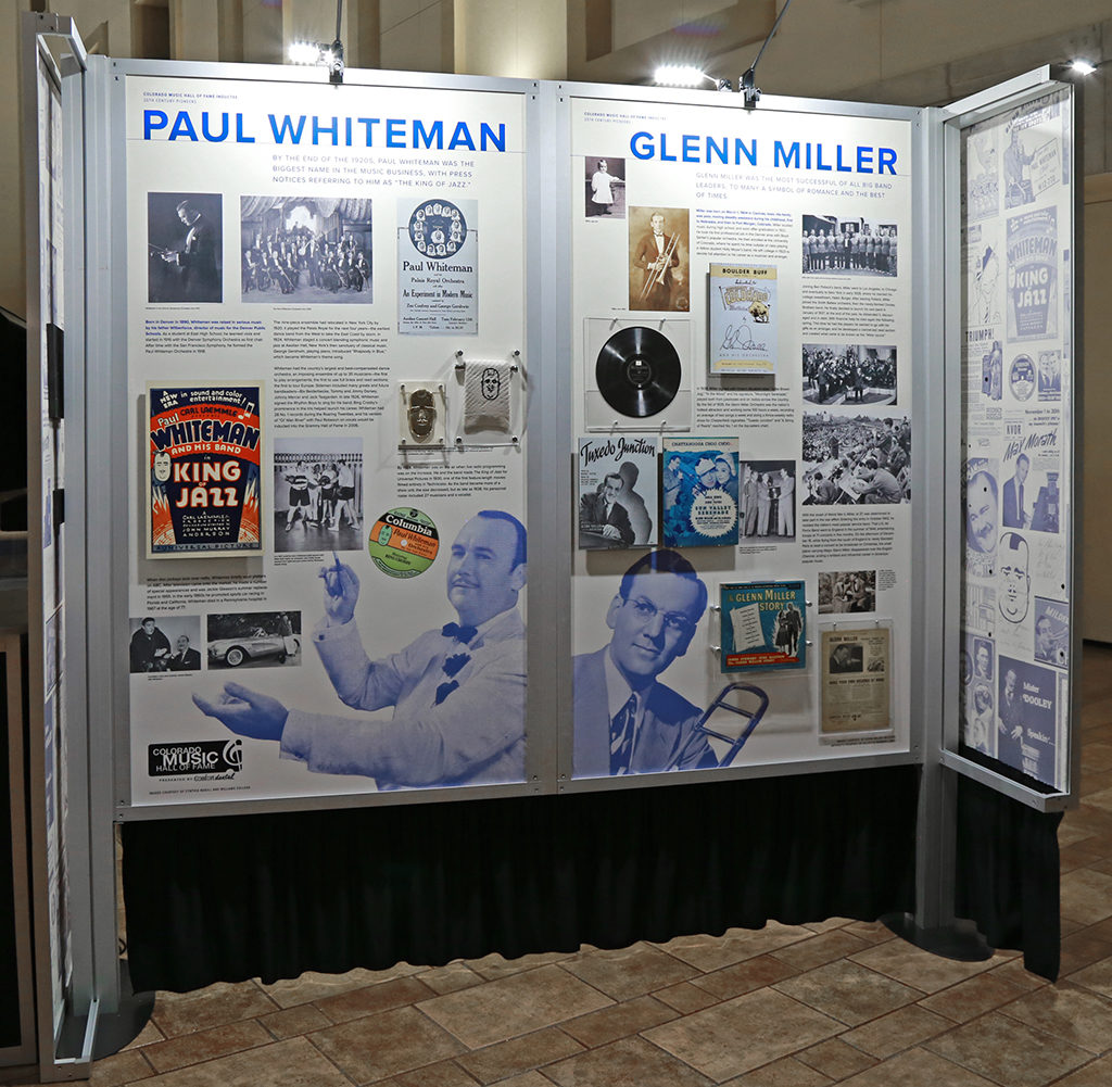 Paul Whiteman & Glenn Miller Exhibits CMHOF