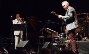 Bill Frisell and Ron Miles perfroming at Masters of Jazz and Beyond - Colorado Music Hall of Fame