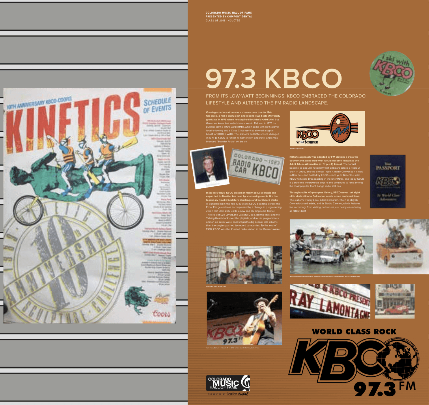 KBCO Exhibit part one