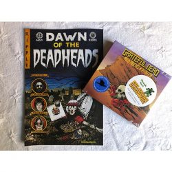 Grateful Dead CD +comic