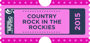 COUNTRY ROCK IN THE ROCKIES 2015